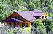 The Community Building at Tara Mandala
